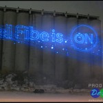 Bell Fibe Is ON Lasers Production Design International