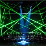 Star Wars in concert Lasers Production Design International