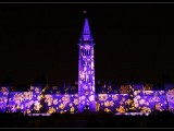 Parliament Hill video mapping