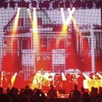 LED back drop Noel Gallagher Band